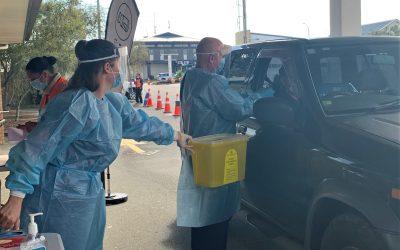 Ōpōtiki opens first BOP drive-thru vaccination clinic