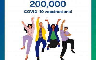 200,000th dose of COVID-19 vaccine administered in the Bay of Plenty
